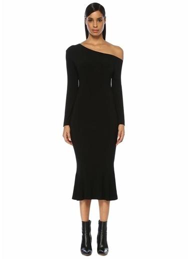 Norma Kamali Elbise Siyah